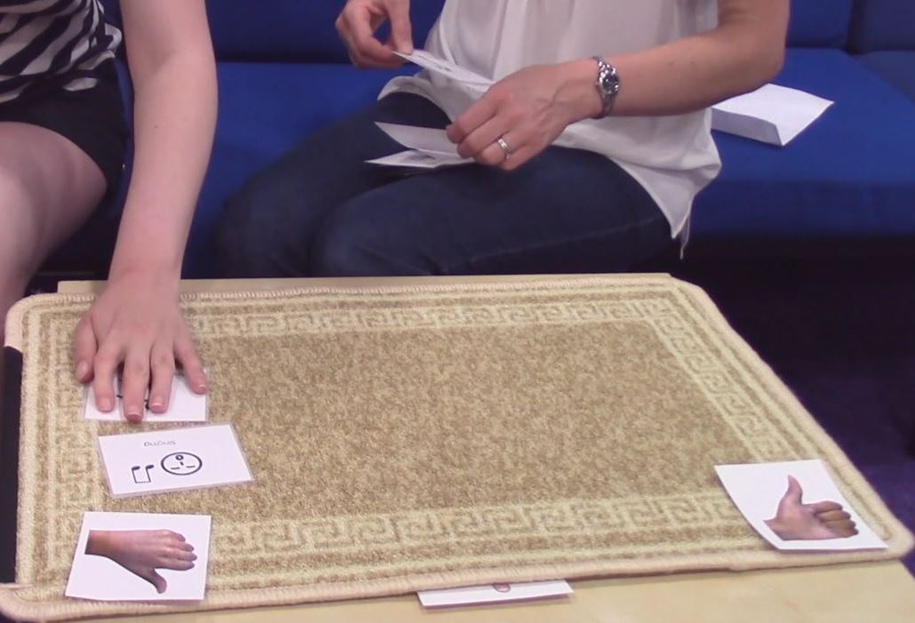 Using Talking Mats -a a symbol-based technique to help people express themselves